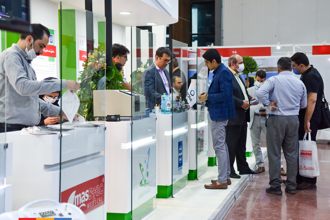 پاویون شرکتهای دانشبنیان و فناور در نمایشگاه دستاوردهای مقابله با کرونا